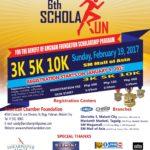 6th ScholaRUN 2017 3/5/10K (MOA)