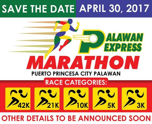 Palawan Express Marathon 2017 Poster
