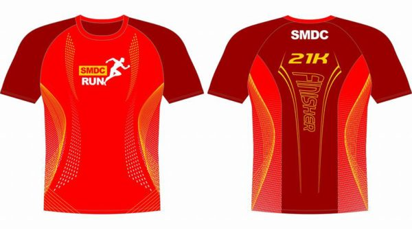 SMDC Run 2017 21K finisher shirt