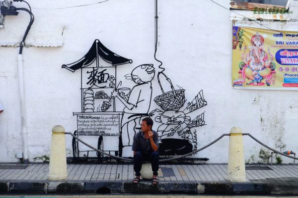 Penang Street Art Caricatures 02