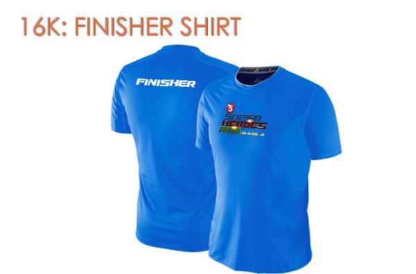 TV5 Super Heroes Run 2017 Finisher Shirt