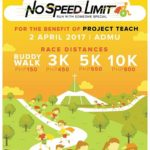 No Speed Limit 2017 3/5K/ Buddy Walk (QC)