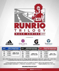 RunRio Trilogy 2017 Reg Fees