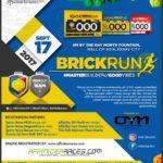 BrickRun 2017 Poster