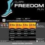 Clark Freedom Run 2017 2.5/5/10/21K (Pampanga)