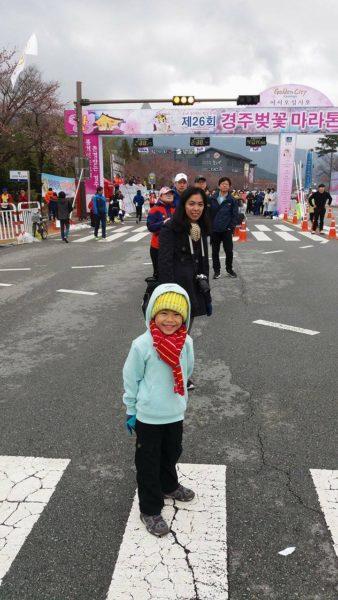 Gab at the marathon