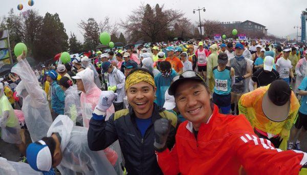 Gyeongju Cherry Blossom Marathon 01