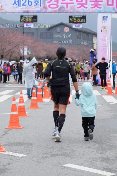 Gyeongju Cherry Blossom Marathon with Gab