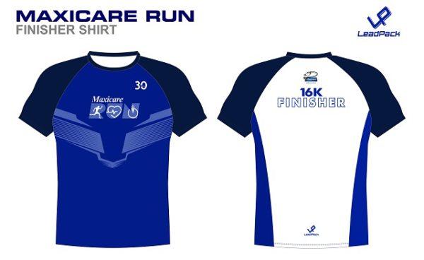 MaxiCare Run 2017 Finisher Shirt