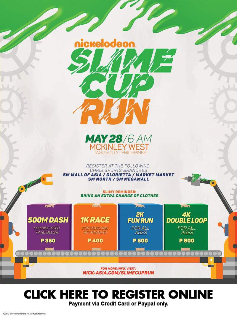 Slime Cup Run 2017 Online Reg