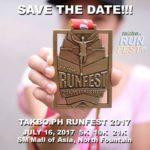 Takbo.ph RunFest 2017 5/10/21K (MOA)