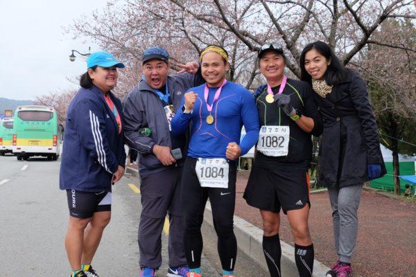 TakboPH peeps at Gyeongju Marathon 2017 R2