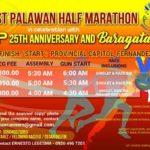 1st Palawan Half Marathon 2017 Poster