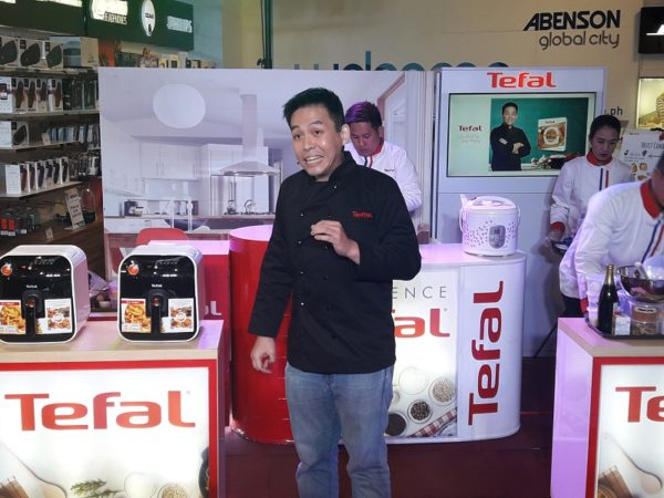Experience Tefal Appliances - Chef Jonas Ng