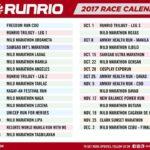RunRio Events 2017 Calendar of Races