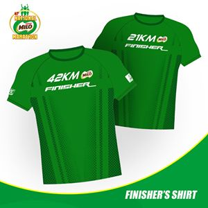 41st National Milo Marathon Finisher Shirt