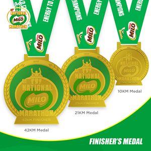 41st National Milo Marathon Medal