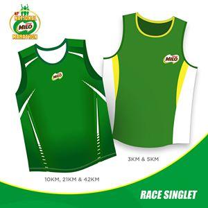 41st National Milo Marathon Singlet