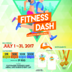 Gorun.ph Fitness Dash 2017 21/50/100/200K (Virtual Run)