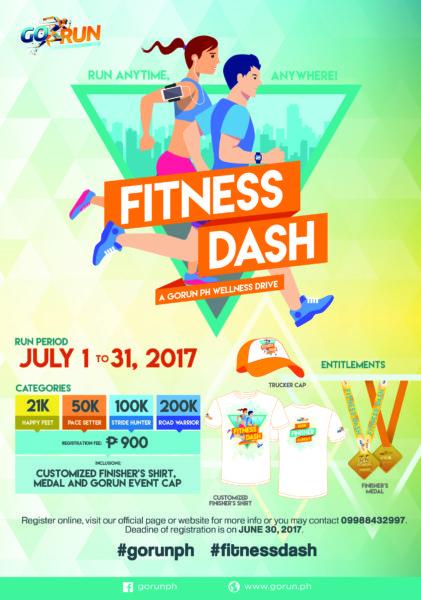 GORUNPH Fitness Dash 2017 Poster