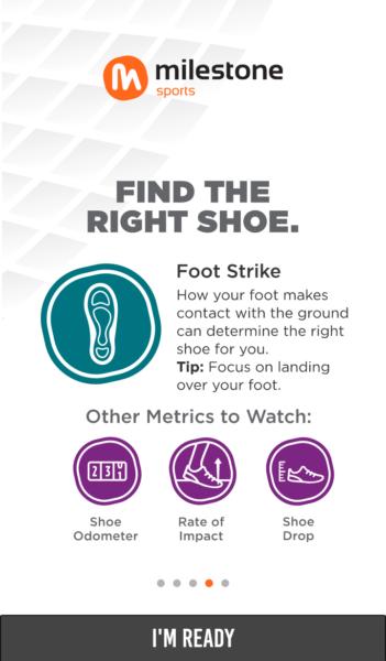 Milestone Pod Foot Strike