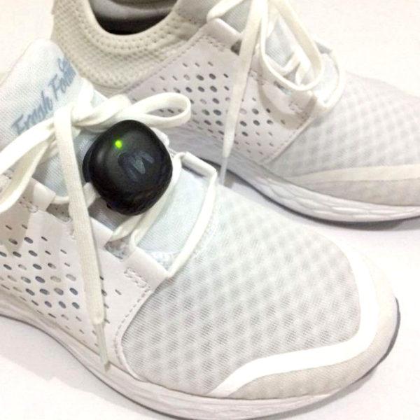 Milestone Pod on Shoe