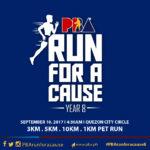 PBA Run for a Cause Year 8 2017 1/3/5/10K (QC)