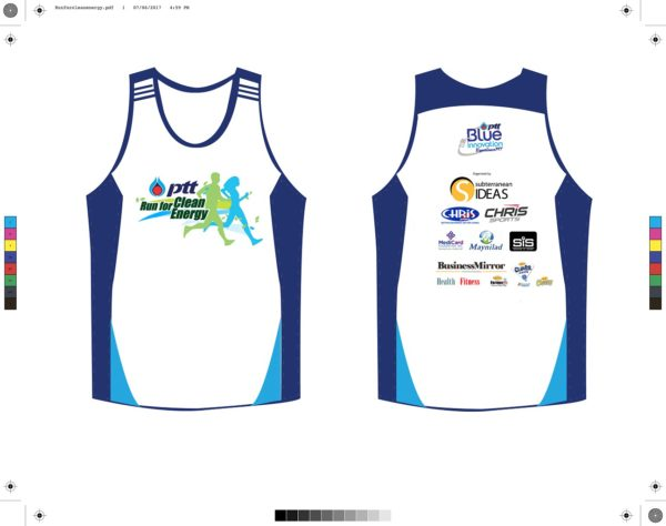 PTT Run for Clean Energy 2017 Singlet