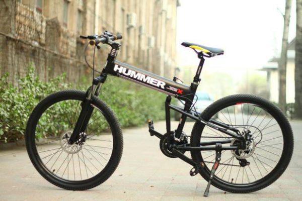 hummer-aluminium-folding-bike
