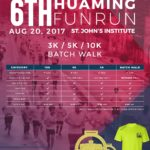 6th Hua Ming Fun Run 2017 3/5/10K (Bacolod)