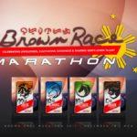 Affinitea Brown Race Marathon 2017 Poster