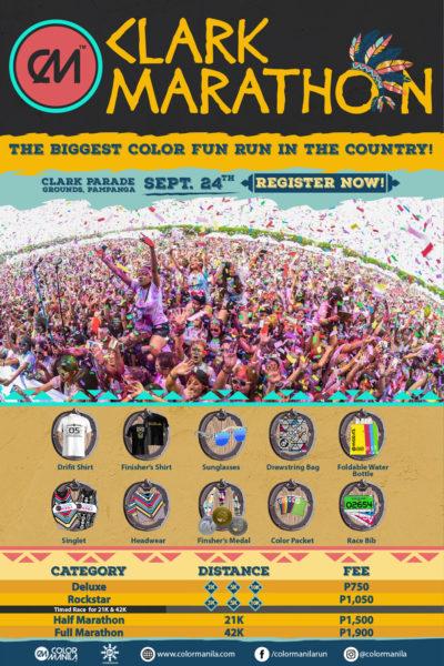CM Clark Marathon Poster