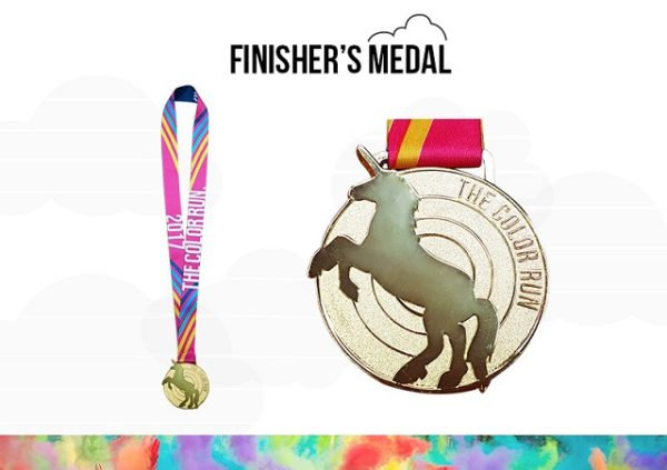 Color Run Philippines 2017 Medal