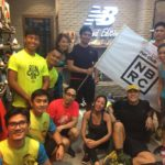 New Balance Run Club in Manila