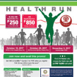 Nutrilite Health Run 2017 Poster