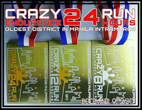 Crazy 24 Hours And 32 Hours Endurance Run 2017 24H Medal