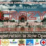 Crazy 24 Hours and 32 Hours Endurance Run 2017 (Manila)