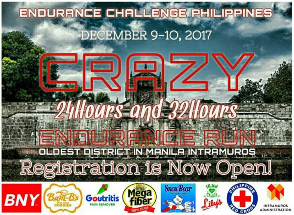 Crazy 24 Hours And 32 Hours Endurance Run 2017 Poster