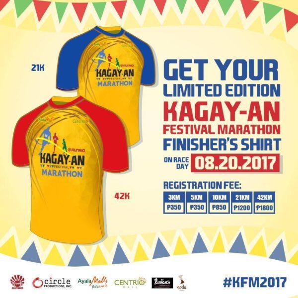 Kagay-an Festival Marathon 2017 Finisher Shirt
