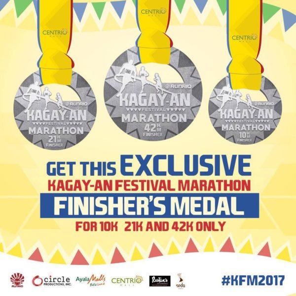 Kagay-an Festival Marathon 2017 Medal