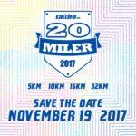 Takbo.ph 20 Miler 2017 5/10/16/32K (MOA)