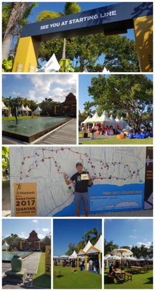 Bali Marathon Race Kit Claiming