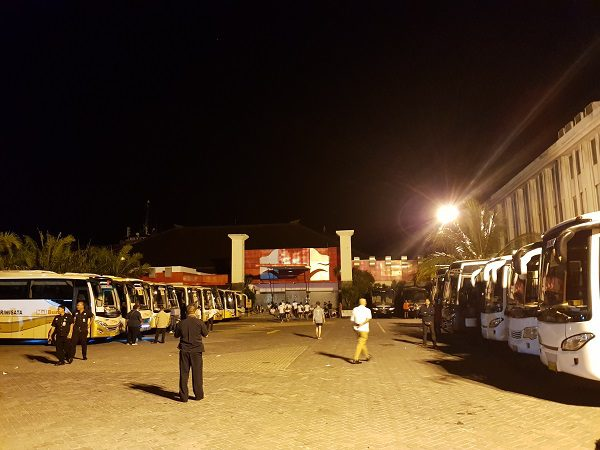 Bali Marathon Shuttle Buses