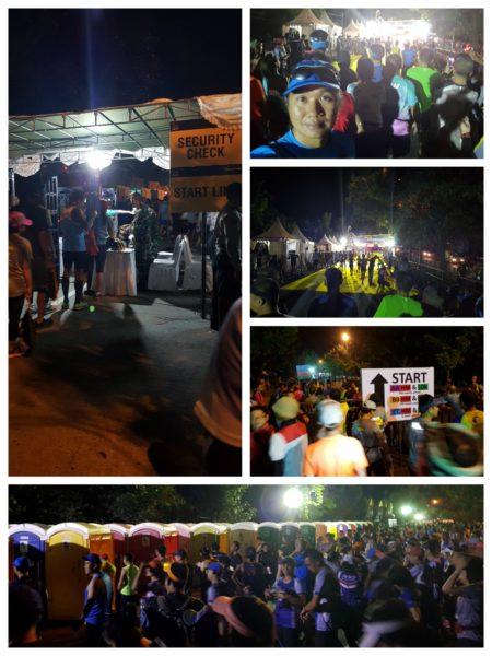 Bali Marathon Starting Area