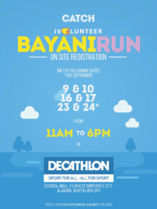 BayaniRun 2017 On Site Reg