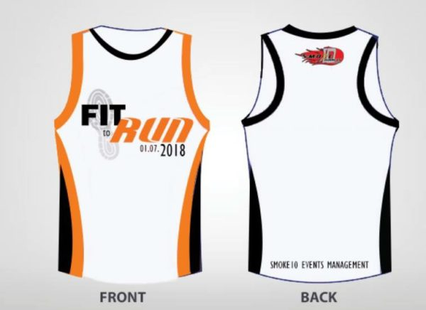 Fit To Run - Bacolod Leg 2018 Singlet