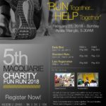 Macquarie Charity Fun Run 2018 Poster