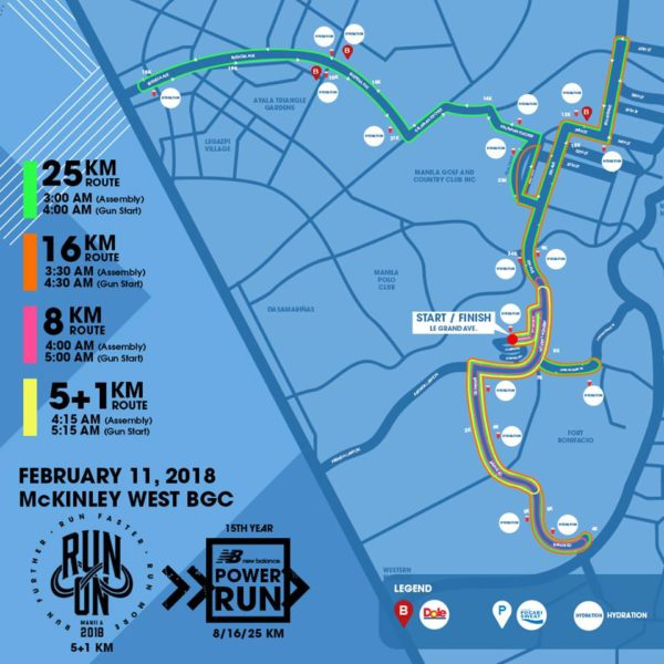 NB 2018 route