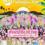Color Manila Paradise Run 6 2018 Poster