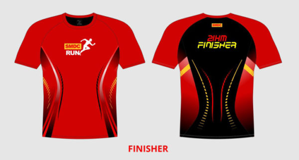 SMDC Run 2018 Finisher Shirt